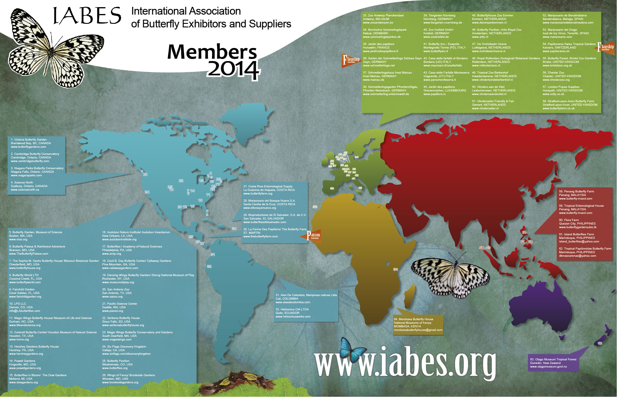 World map and member addresses gumiabroncs Gallery